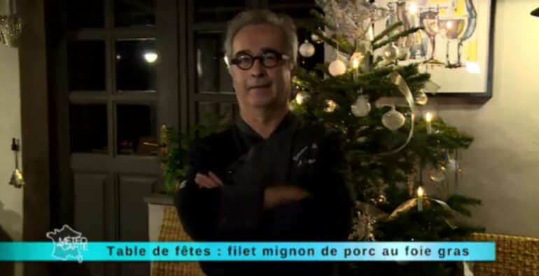 La recette du filet mignon par Jean-Marc Pourcher