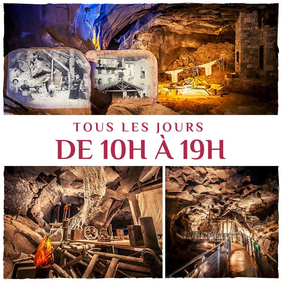 Toscan d'Auvergne - Grotte de la Pierre