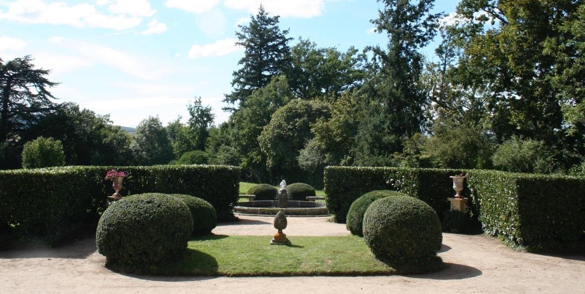 Les jardins de la Croze