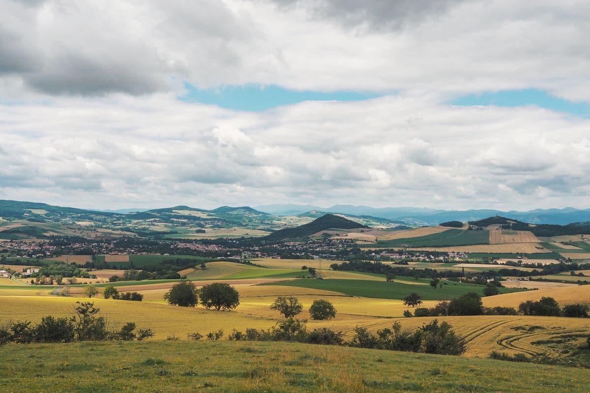 Toscane d'Auvergne ©Louise Grenadine - paysage