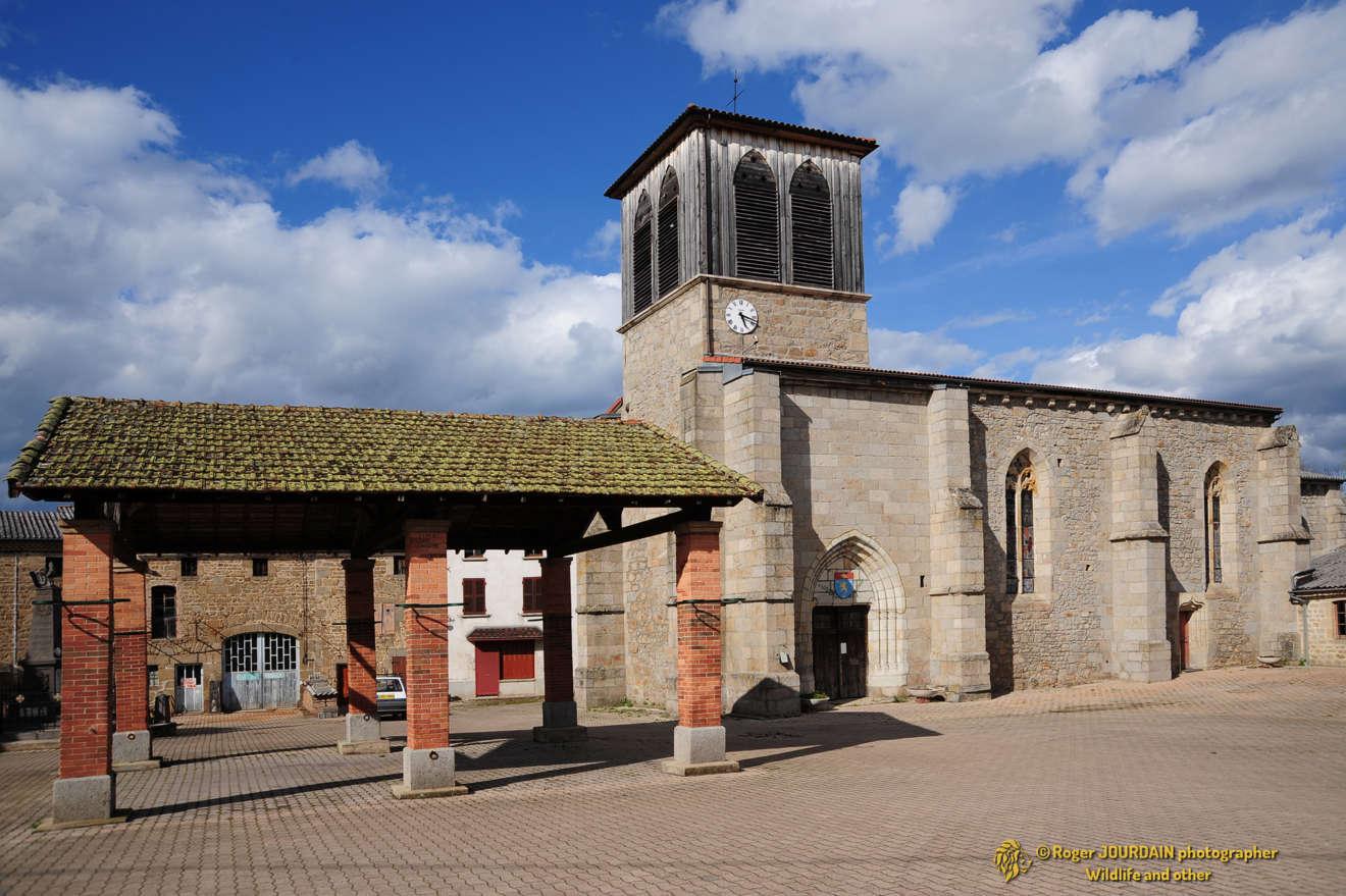 Toscane d'Auvergne ©Roger JOURDAIN - Domaize église