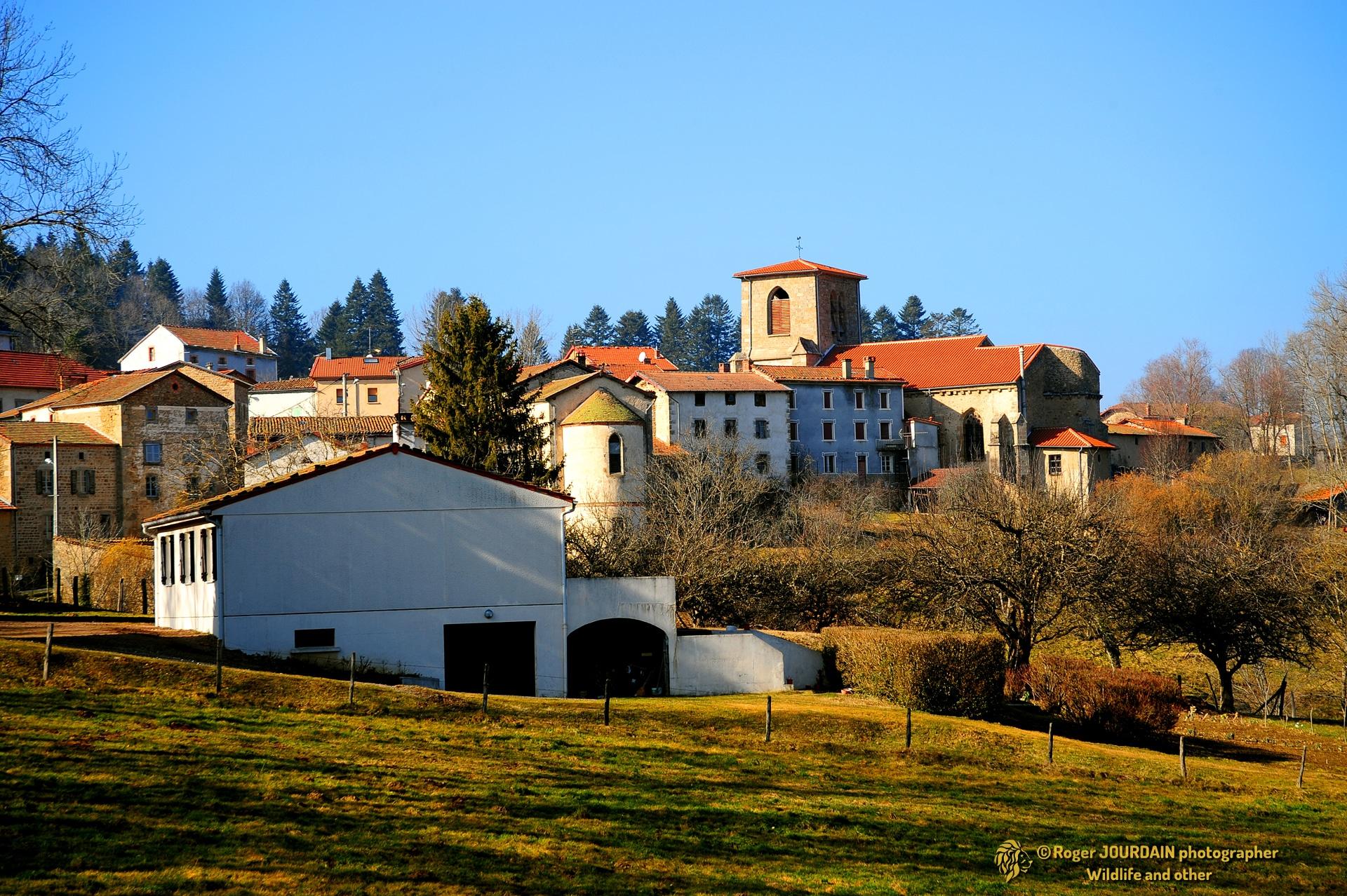 Toscane d'Auvergne ©Roger JOURDAIN - La Chapelle Agnon